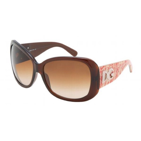 fc4f9898dfc Dolce   Gabbana Accessories - Dolce   Gabbana Sunglasses brown red ...
